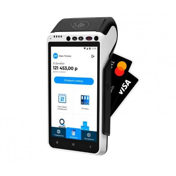 Мобильная касса со встроенным эквайрингом для интернет-магазина и доставки курьером: какую лучше выбрать?